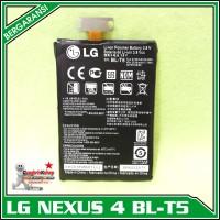 Baterai Batre Battery Lg Nexus 4 Bl T5 Original 100% 2100mah