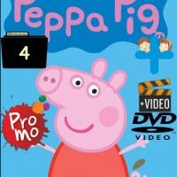 Video Kartun Edukasi Anak Peppa Pig 52 Episode Season 4 DVD Video