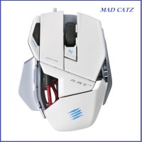 Mad Catz RAT. 3 (Gloosy White) - Gaming Mouse