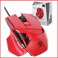 Mad Catz RAT. 3 (Gloosy Red) - Gaming Mouse