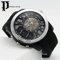 JAM TANGAN SPORTY POLICE DOUBLE TIME