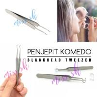 Pinset Jepit Komedo / Blackhead Tweezer / Penjepit Komedo Jerawat