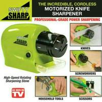 Swifty Sharp asahan pisau otomatis motorized knife sharpener - HKN219