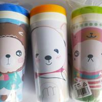 Tempat botol minum air anak motif binatang hadiah kado souvenir KHM233