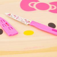 Pisau dapur mini lucu hello kitty / cute mini knife - KHM061