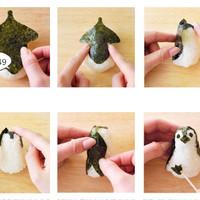 cetakan bento cetakan nasi bentuk penguin pinguin lucu unik - HKN193