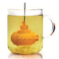 Tea bag filter saringan penyeduh teh infuser kapal selam unik - HKN164