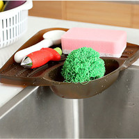 tempat untuk menaruh spons cuci piring bentuk seigitiga - HHM403