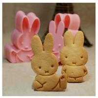 cetakan roti kue bento biskuit motif kelinci bekal sekolah anak HKN186
