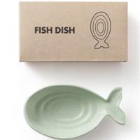 Mangkok kecil bentuk ikan paus/fish dish/mangkuk - HKN137