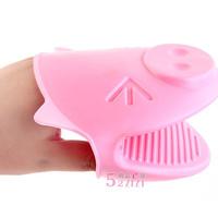 Karet pemegang mangkok / piring panas bentuk babi - HKN089