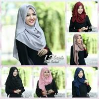 Jual Kerudung Jilbab 1Slup Hana Instant Pashmina Instan Hijab Syari Instan Murah