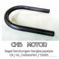 Begel U / Sambungan Rangka Japstyle CB GL Megapro Tiger