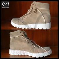 harga Sepatu Boots Wanita Casual Docmart Fashion Distro Kasual Boot Cewek Tokopedia.com