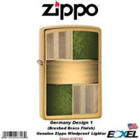 Zippo Textured Germany Design Brass