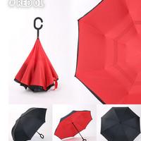 Supplier Payung Terbalik Gagang C Reverse Umbrella BKC340