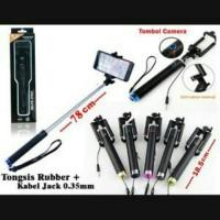 Tongsis Kabel Lipat Full Black BKC350