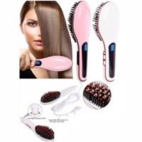 Sisir Catok Pelurus Rambut/ Fast Hair Straightener HQT-906 BKC327