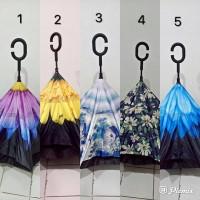 Supplier Payung Terbalik Gagang C Reverse Umbrella karakter BKC341