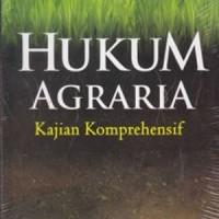 harga Buku Hukum Agraria Kajian Komprehensif Tokopedia.com