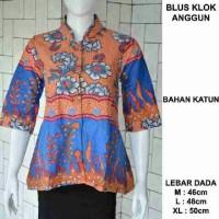 blouse klok anggun batik pekalongan | blus | atasan wanita kemeja
