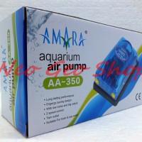 pompa mesin aquarium akuarium aerator gelembung udara amara aa 350