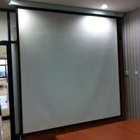 harga Screen Projector / Layar Proyektor / Manual Screen Tokopedia.com