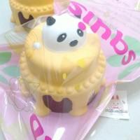 Squishy Panda Birthday Cake Yellow