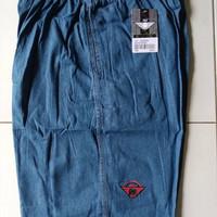 Harga terbatas celana kolor pendek jeans karet pria wanita polos hr 701 | WIKIPRICE INDONESIA
