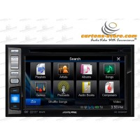 Headunit/Head Unit Double Din Monitor Alpine INE-W960 By Cartens Sto
