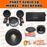 Paket Audio Mobil 'SQ' Morel & Rockford By Cartens Store