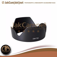 JC01 | EW-73B Lens Hood for Canon EF-S 18-135mm F3.5-5.6 IS BF17-85mm