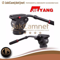 JC07 | JIEYANG JY0506 Pro Video Camera Action Fluid Drag Tripod Head