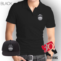 Kaos polo plus topi SnapBack Persib Bandung