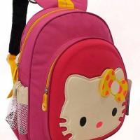 Jual Tas Sekolah Anak Perempuan | Tas Ransel Anak SD Hello Kitty Pink Murah