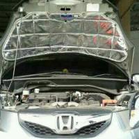alum peredam panas dan suara Honda Brio