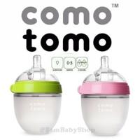 Jual Comotomo SInlge 150 ( Green / Pink ) Como Tomo Baby Bottle Murah