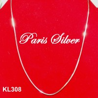 Jual Kalung Lippo Cassandra Santa Silver Perak 925 Necklace Korea Gold Murah