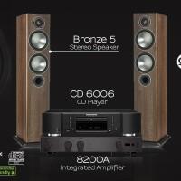 AudioLab 8200A, Marantz CD6006, Monitor Audio Bronze5