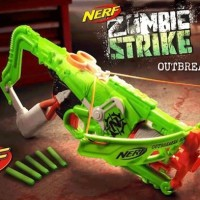 Pistol Panah NERF Crossbow Zombie Strike OUTBREAKER BOW