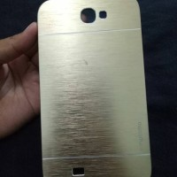 Moto Moto Gold Hard Case Samsung Note 2 Second / Preloved /Bekas