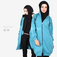 Jual Jaket Blouse Blazer Hodie | Hoodie | Hoody Fleece Hijab ( HJ-18 ) Murah