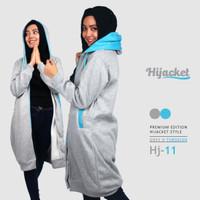Jual Jaket Blouse Blazer Hodie | Hoodie | Hoody Fleece Hijab ( HJ-11 ) Murah