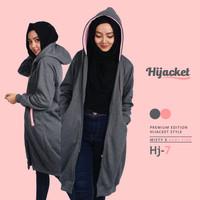 Jual Jaket Blouse Blazer Hodie | Hoodie | Hoody Fleece Hijab ( HJ-7 ) Murah