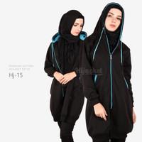 Jual Jaket Blouse Blazer Hodie | Hoodie | Hoody Fleece Hijab ( HJ-15 ) Murah