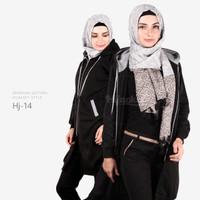 Jual Jaket Blouse Blazer Hodie | Hoodie | Hoody Fleece Hijab ( HJ-14 ) Murah