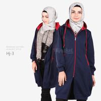 Jual Jaket Blouse Blazer Hodie | Hoodie | Hoody Fleece Hijab ( HJ-3 ) Murah