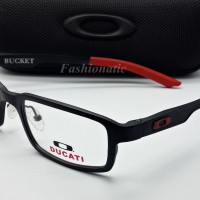 Kacamata Frame Oakley BUCKET Titanium ALLOY - Black DUCATI