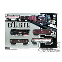Mainan Kereta Api Rail King (19033-4 atau 8239-1) - Free Packing*