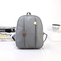 Tas Ransel Bagpack Import Gray Korea Fashion Wanita Keren